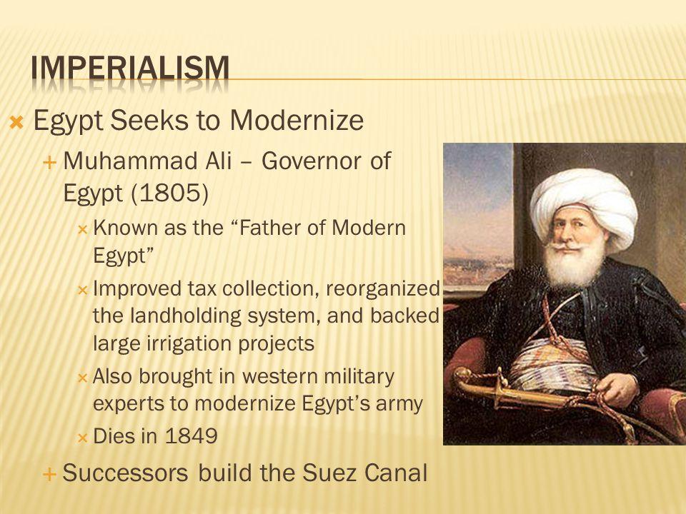 Imperialism Egypt Seeks to Modernize