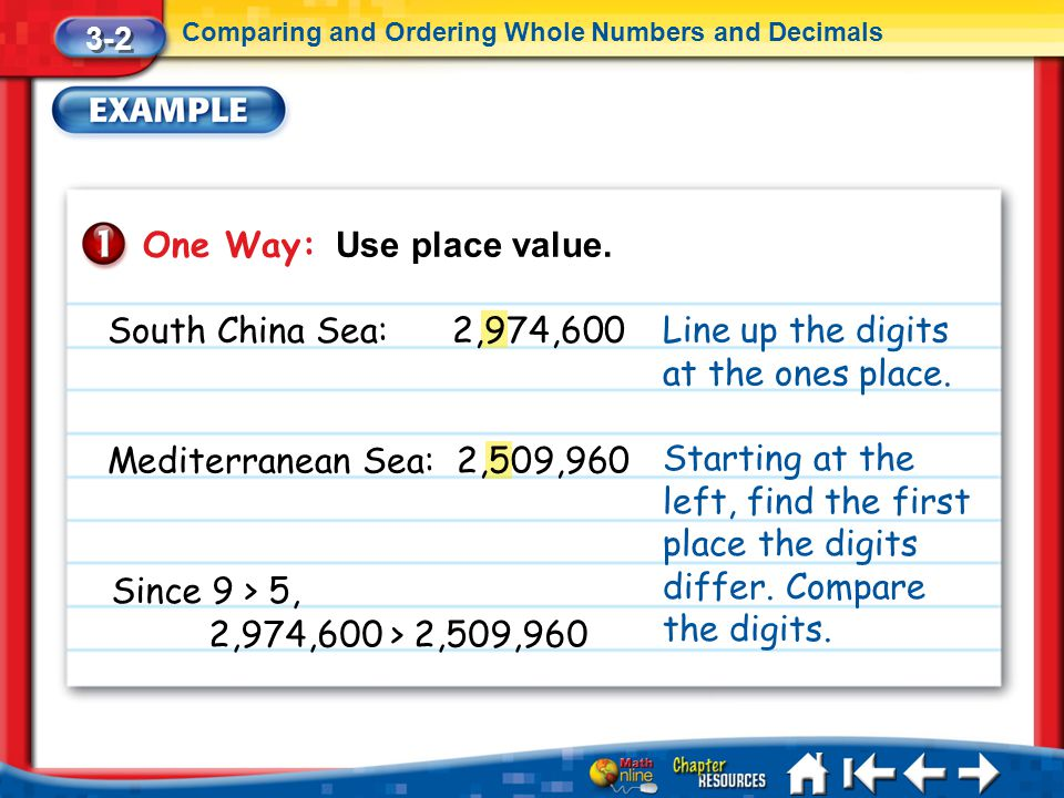 One Way: Use place value.