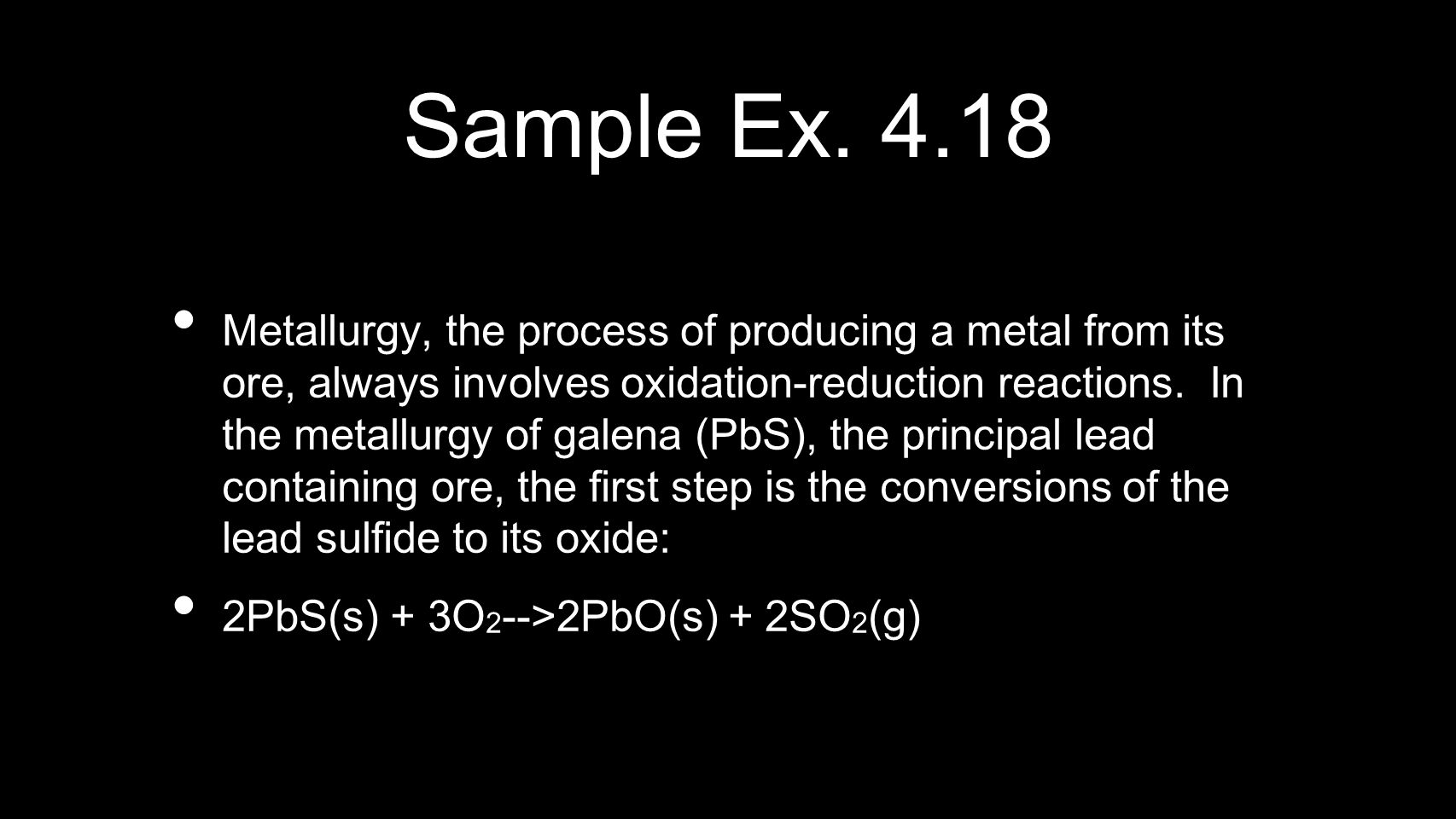 Sample Ex. 4.18