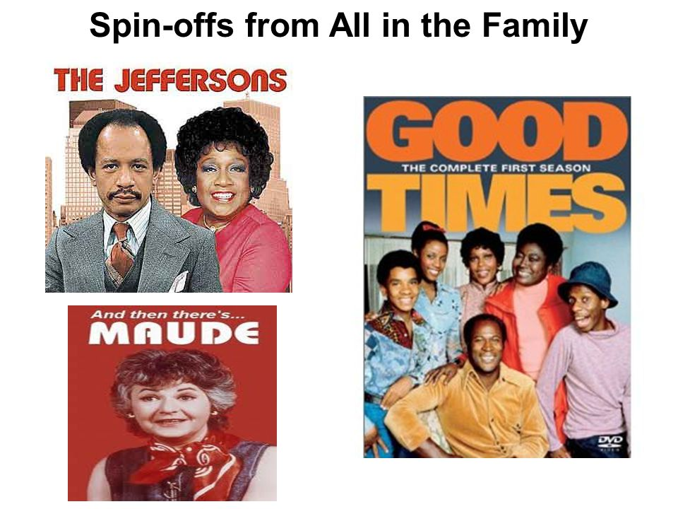 Spin-offs from All in the Family