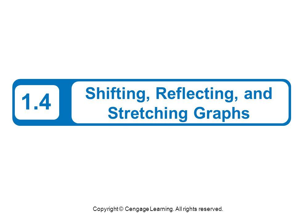 Shifting, Reflecting, and Stretching Graphs