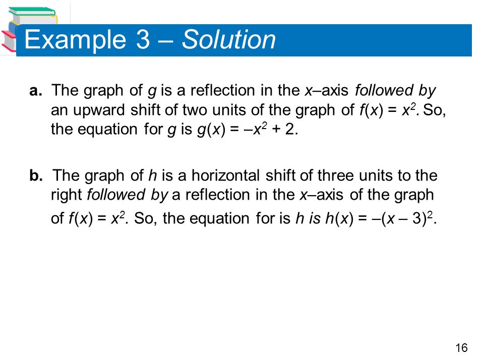 Example 3 – Solution