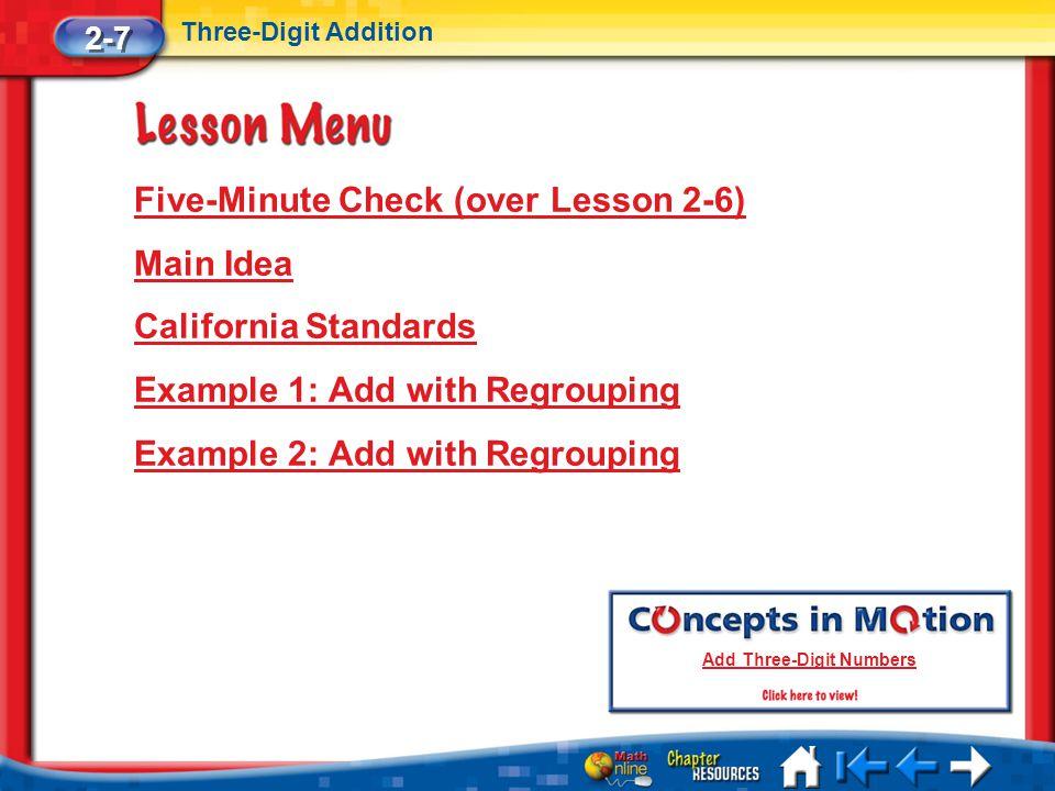 Add Three-Digit Numbers