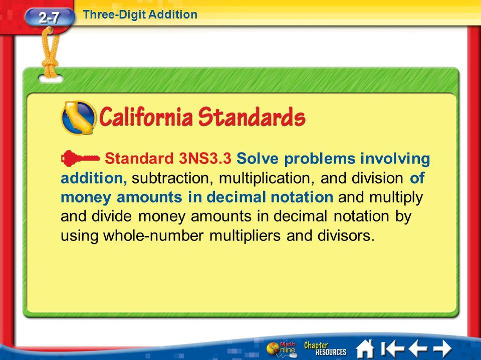 2-7 Three-Digit Addition.