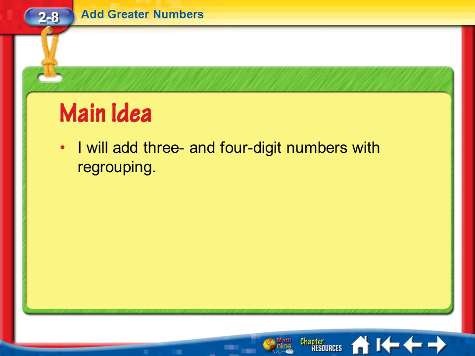 Lesson 8 MI/Vocab/Standard 1