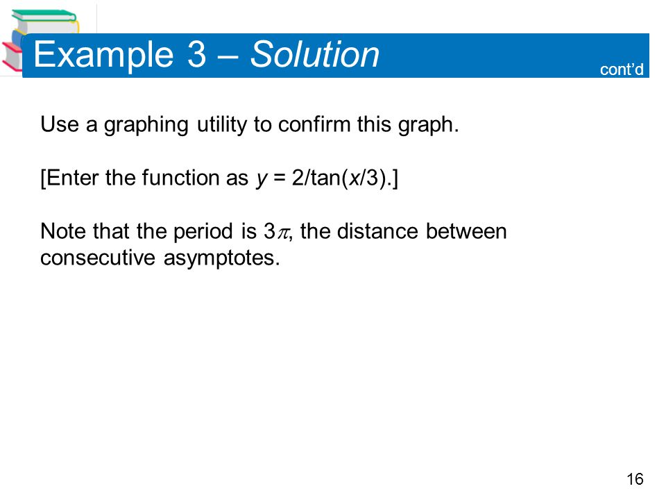 Example 3 – Solution cont'd.