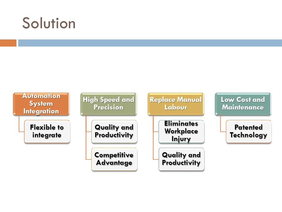 Solution Automation System Integration Flexible to integrate