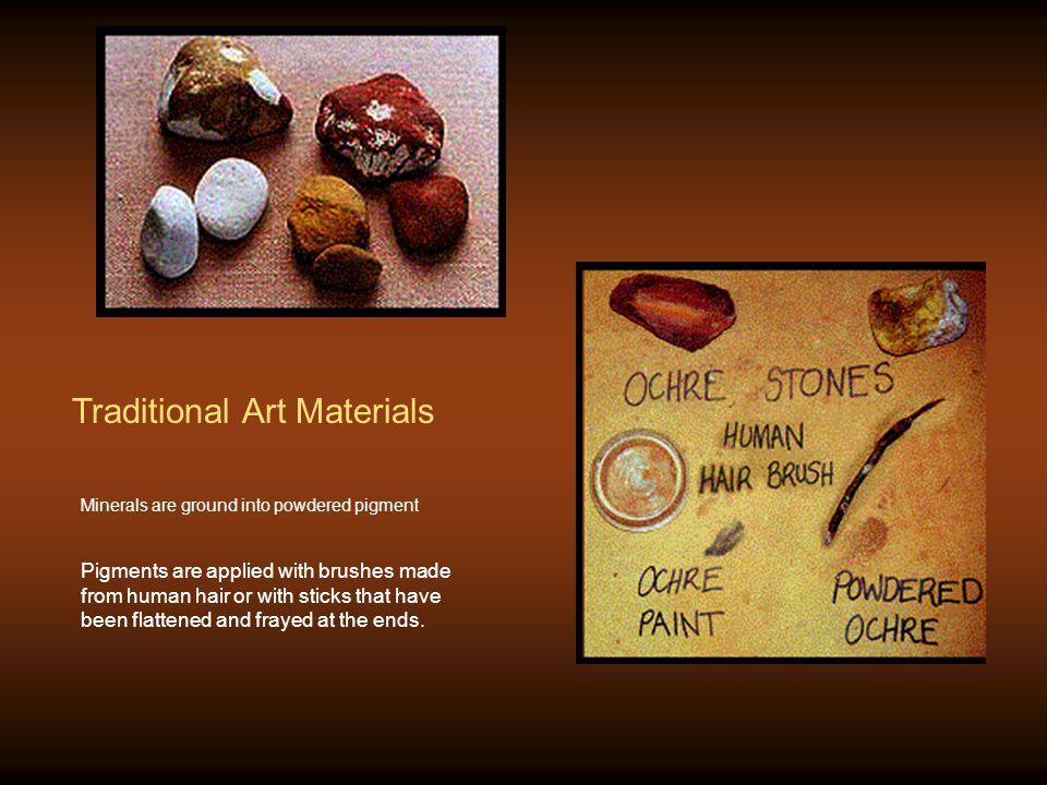 Traditional Art Materials
