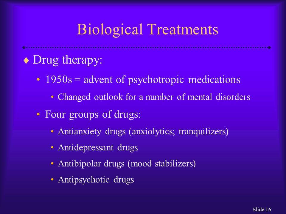 Biological Treatments