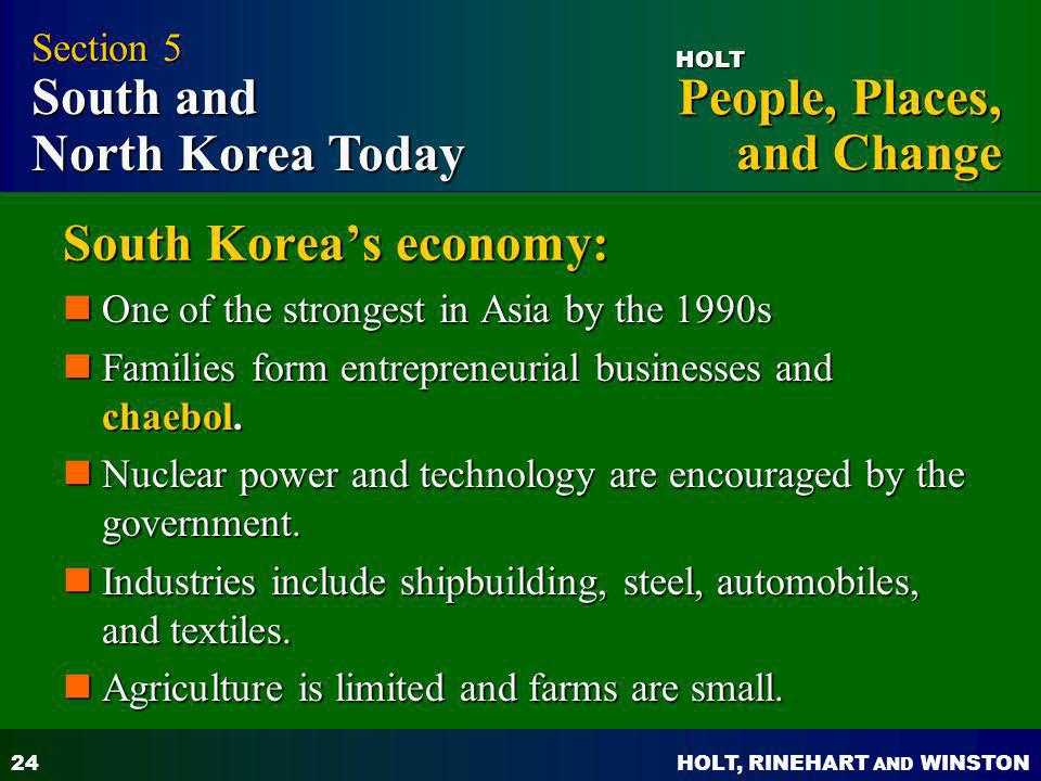South Korea's economy: