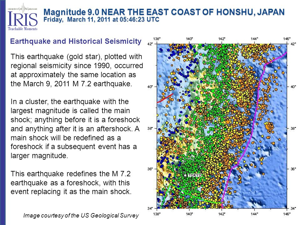 Earthquake and Historical Seismicity