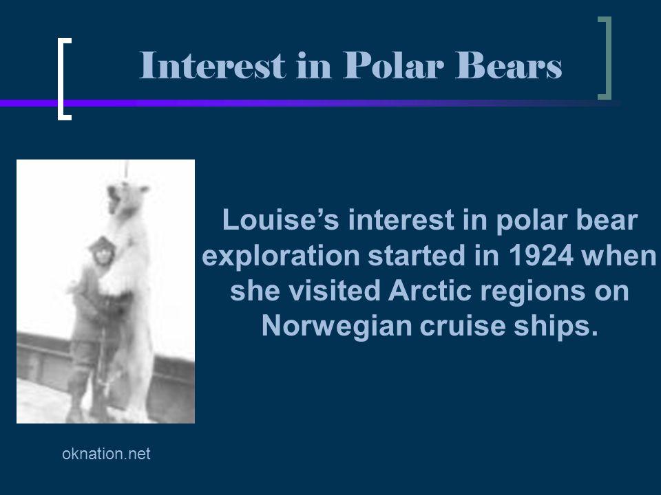 Interest in Polar Bears