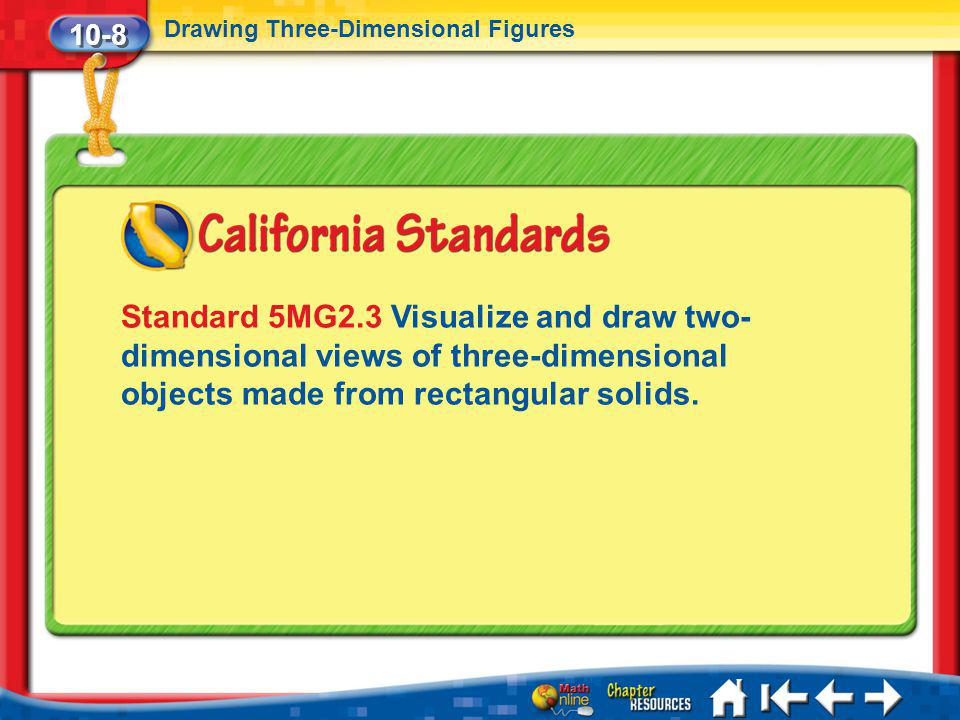 10-8 Drawing Three-Dimensional Figures.