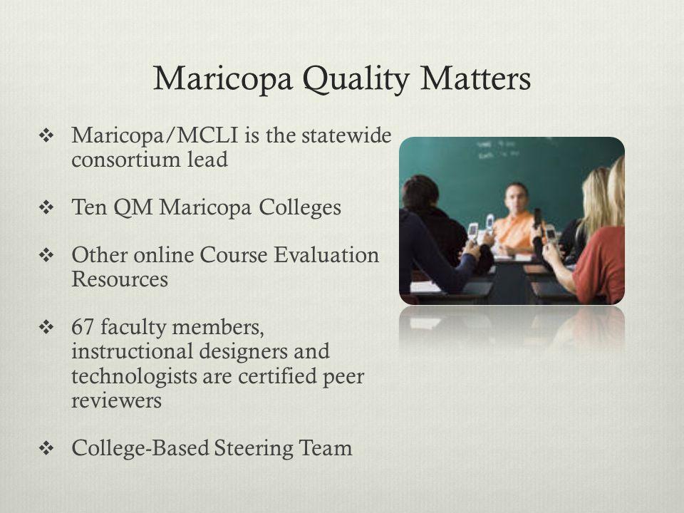 Maricopa Quality Matters