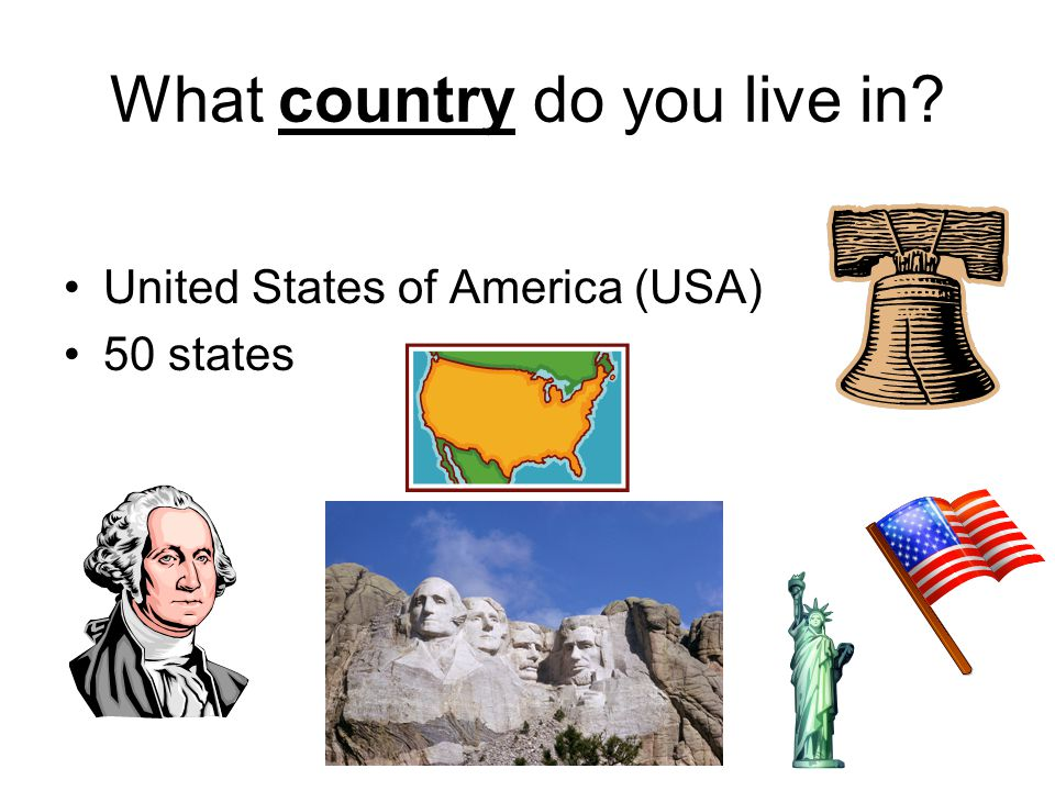 What country do you live in