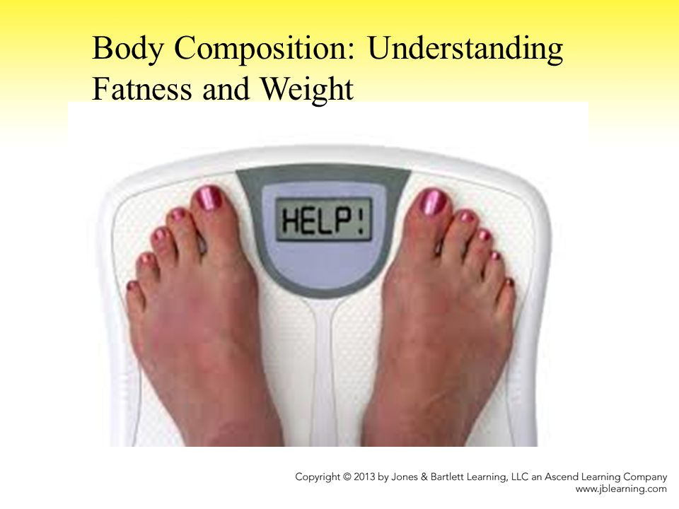 Body Composition: Understanding Fatness and Weight
