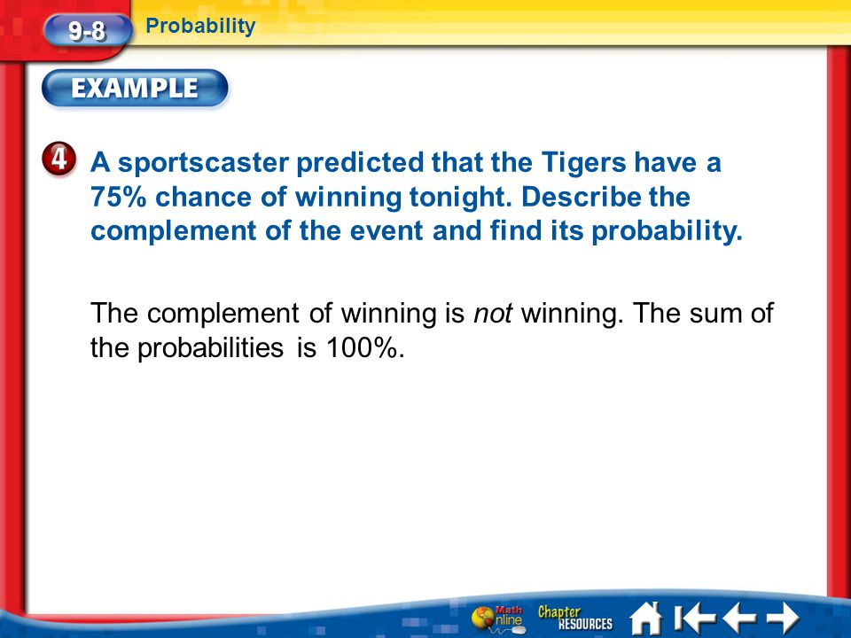 9-8 Probability.