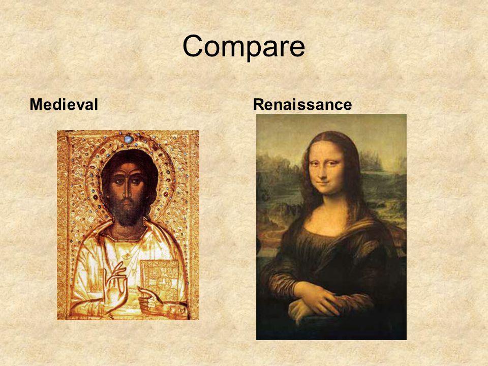 Compare Medieval Renaissance