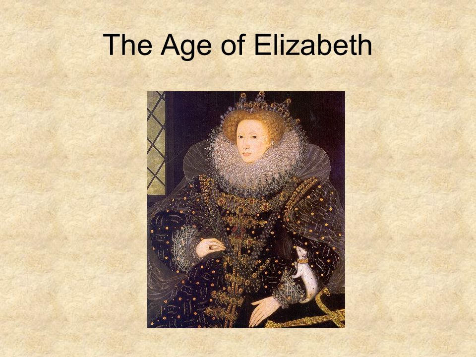 The Age of Elizabeth