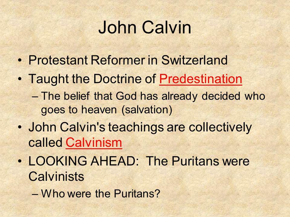 John Calvin Protestant Reformer in Switzerland