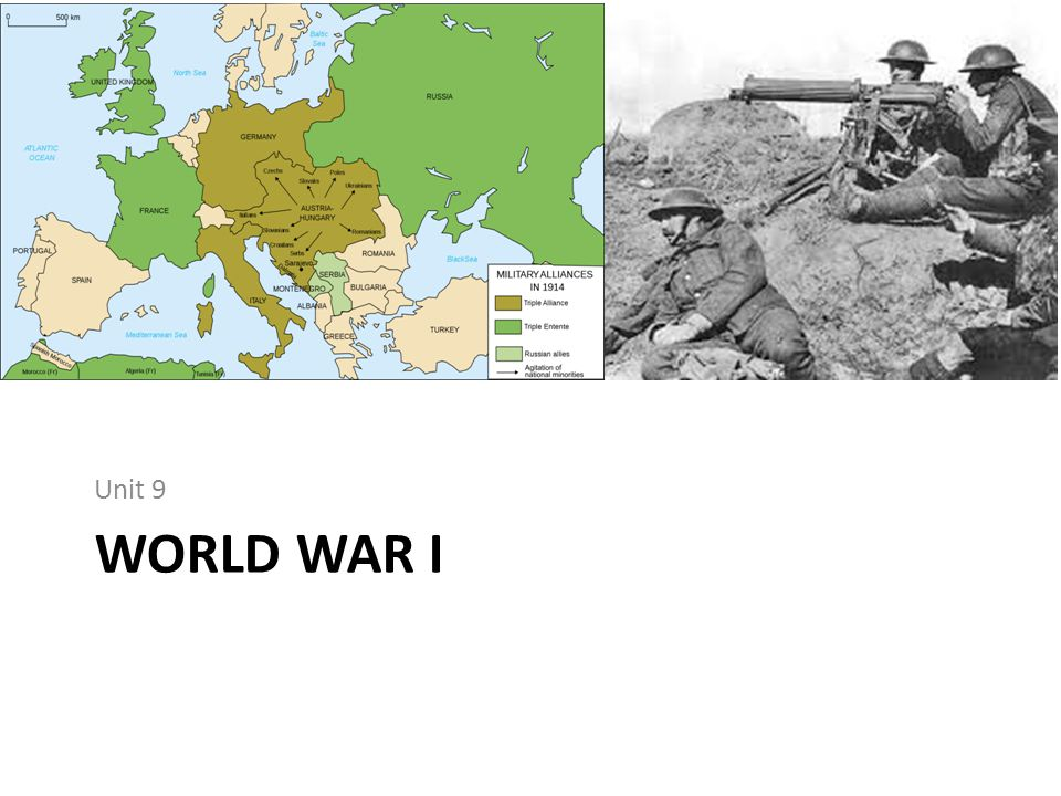 Unit 9 World War I