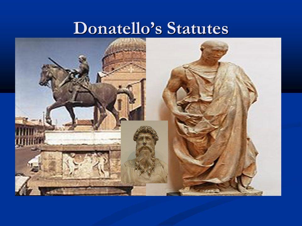 Donatello's Statutes