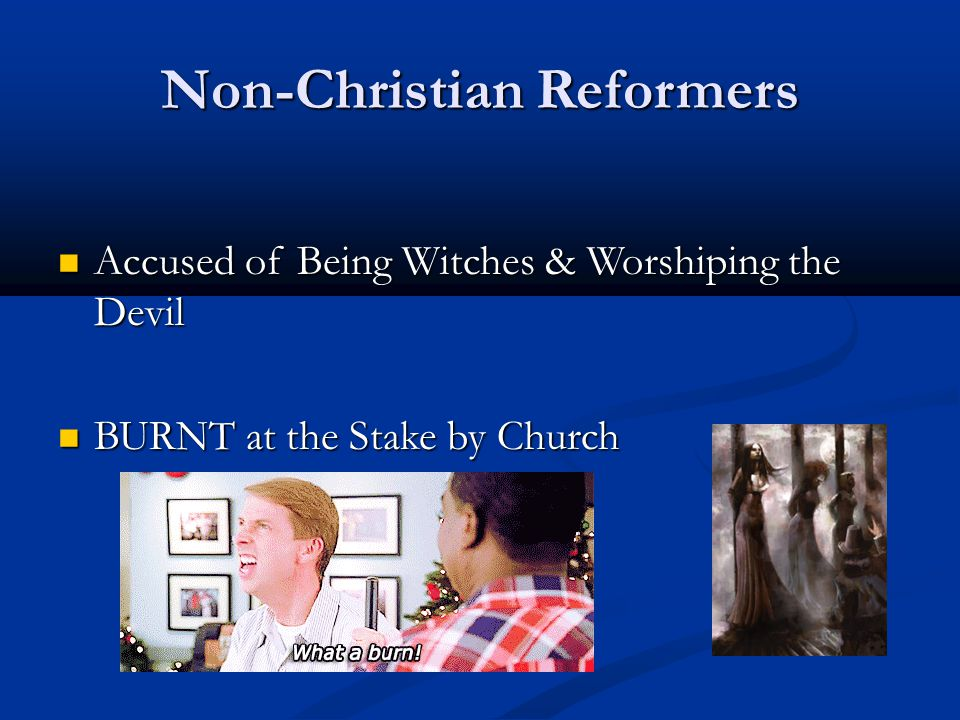 Non-Christian Reformers