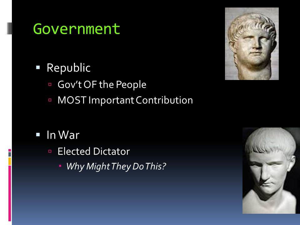 Government Republic In War Gov't OF the People
