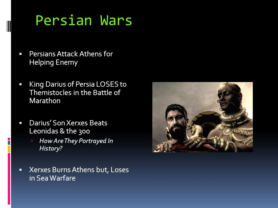 Persian Wars Persians Attack Athens for Helping Enemy