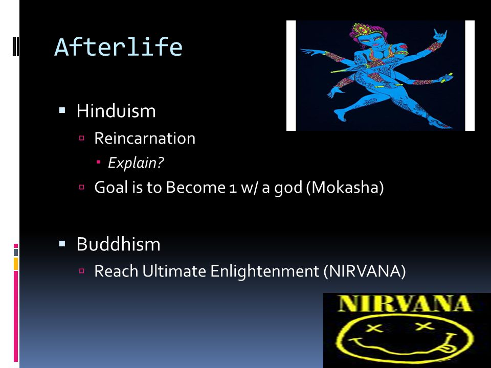 Afterlife Hinduism Buddhism Reincarnation