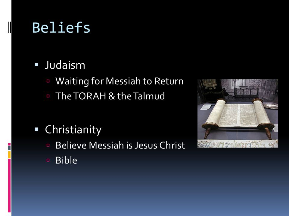 Beliefs Judaism Christianity Waiting for Messiah to Return