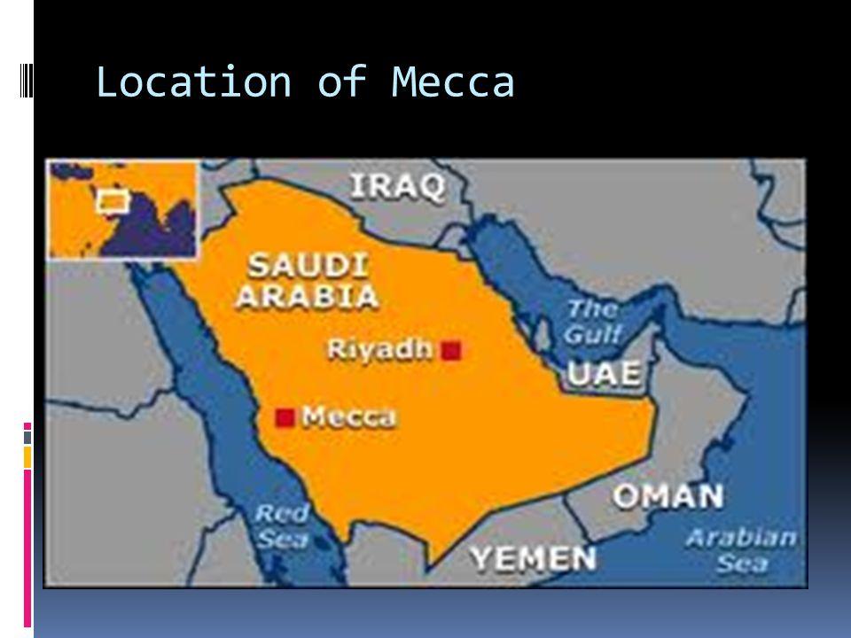 Location of Mecca