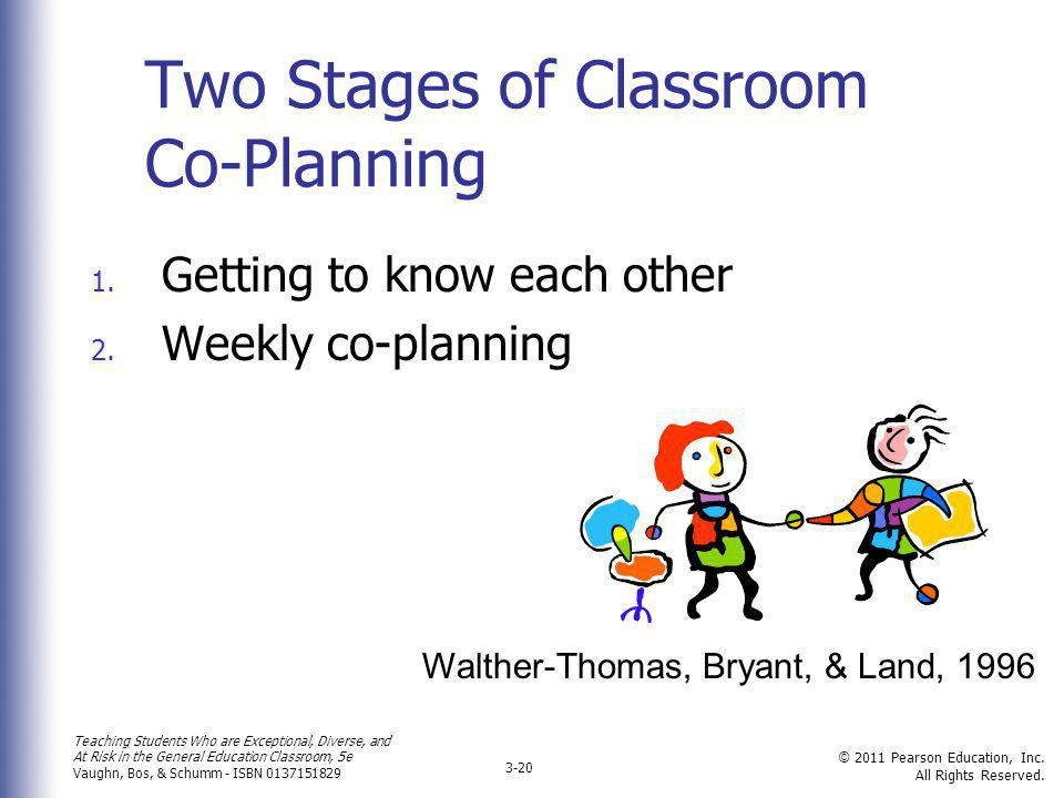 Two Stages of Classroom Co-Planning