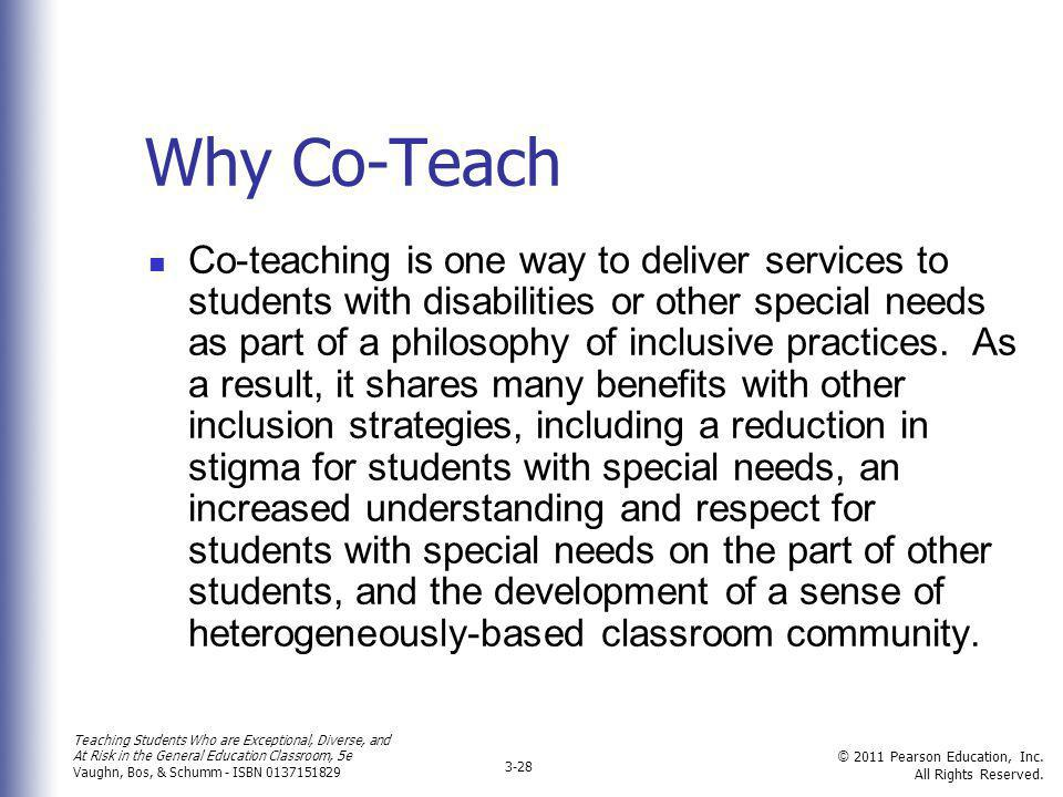 Why Co-Teach