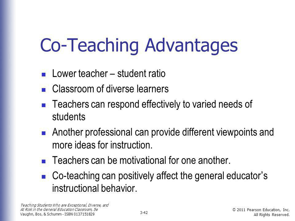 Co-Teaching Advantages