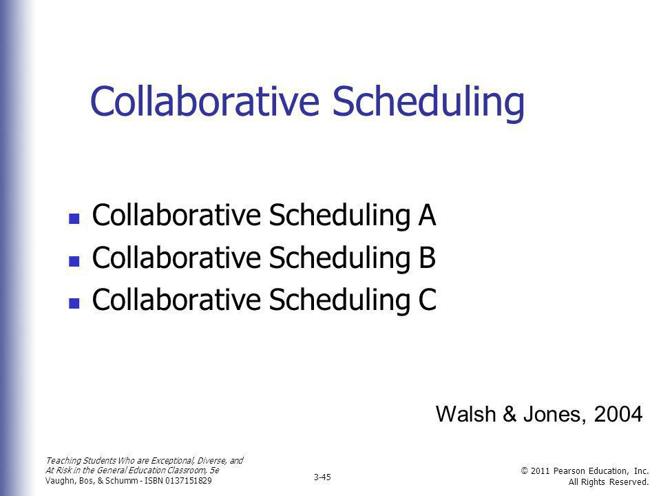 Collaborative Scheduling