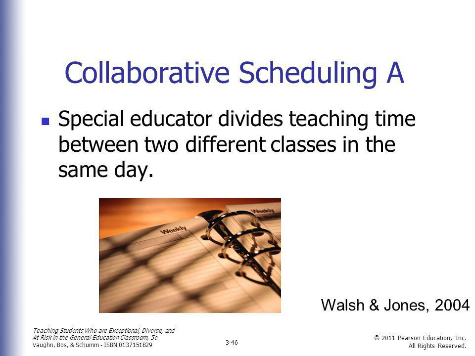 Collaborative Scheduling A