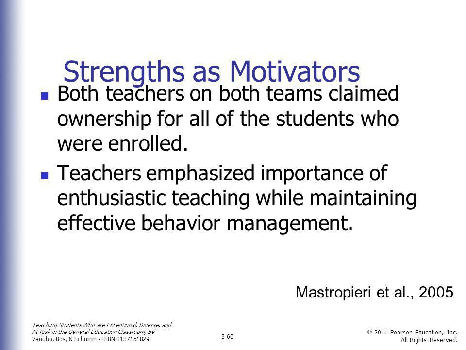 Strengths as Motivators
