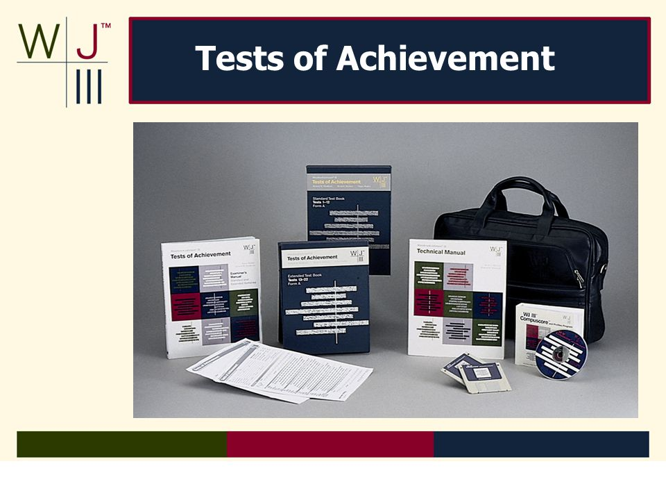 Tests of Achievement