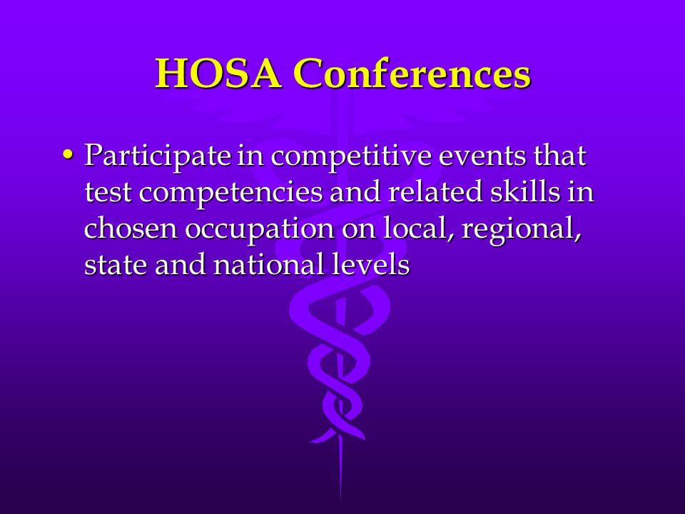 HOSA Conferences