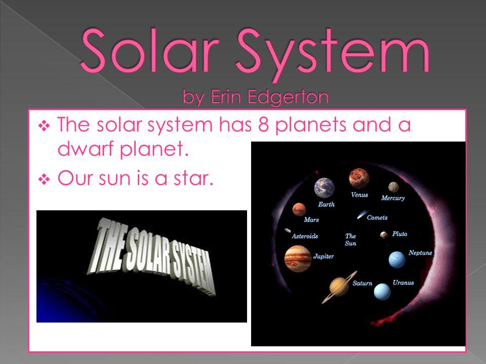 Solar System by Erin Edgerton
