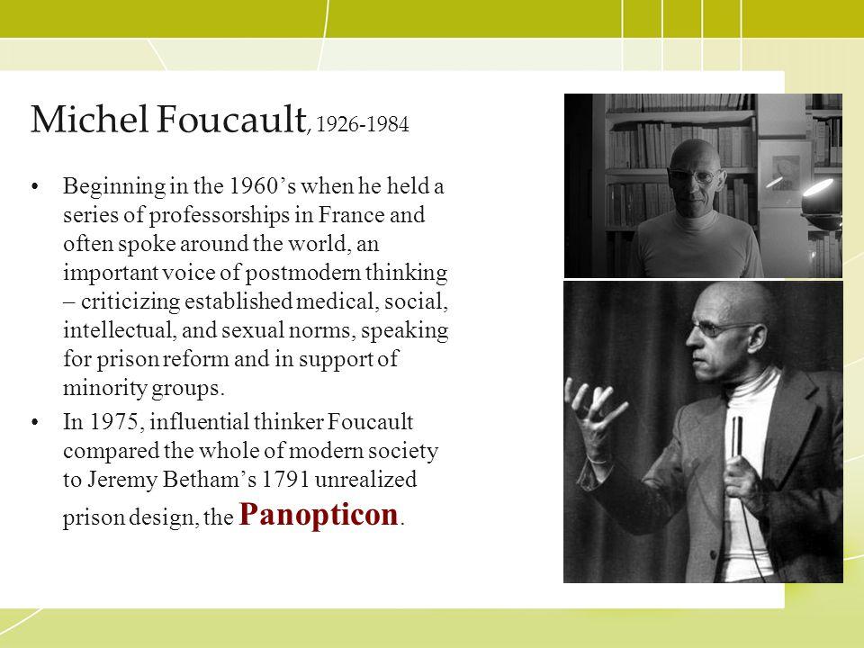 Michel Foucault, 1926-1984