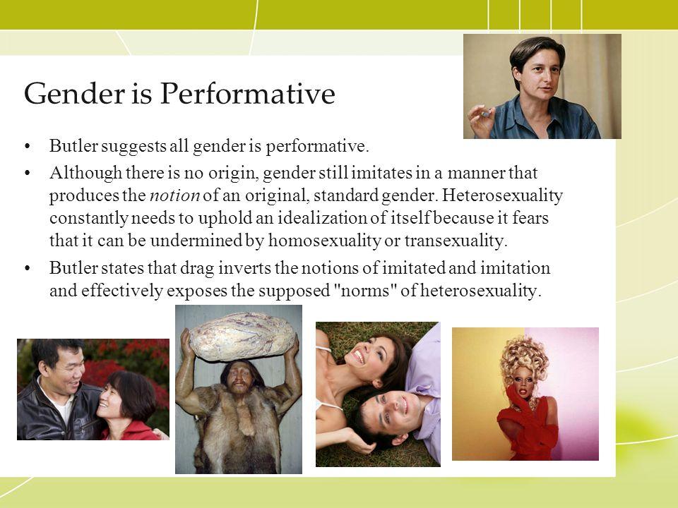 Gender is Performative