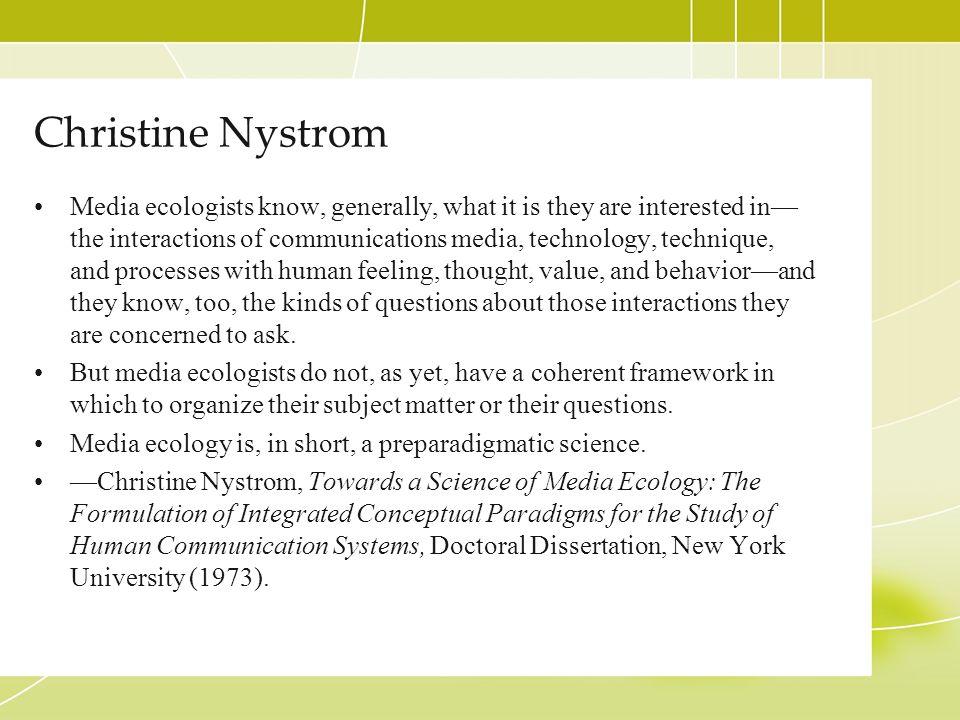 Christine Nystrom