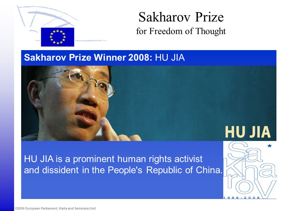 Sakharov Prize for Freedom of Thought
