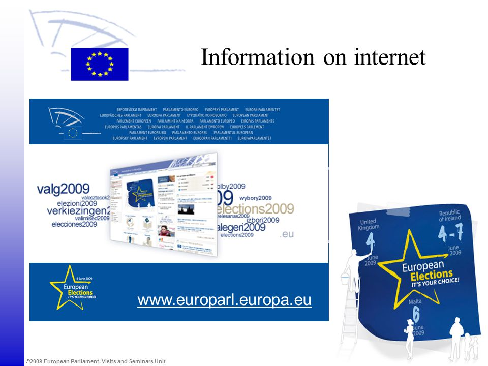 Information on internet