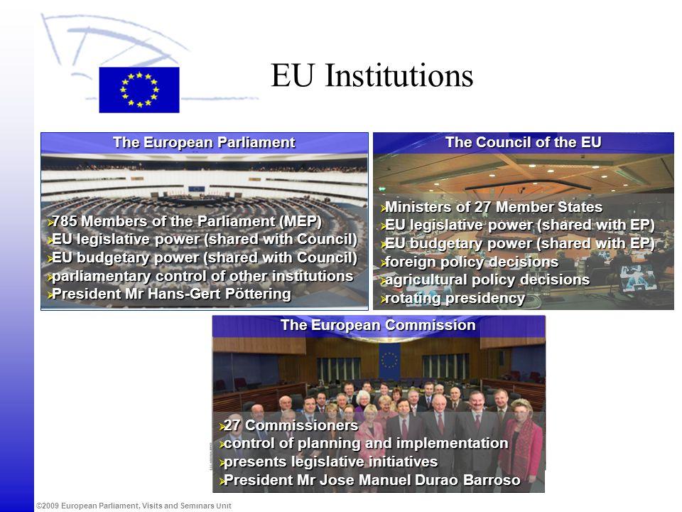 The European Parliament The European Commission