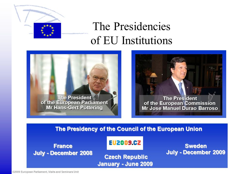 The Presidencies of EU Institutions