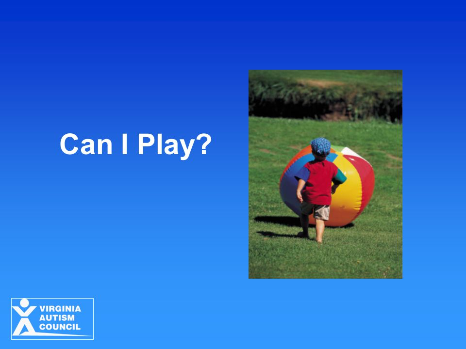 Can I Play ACTIVITY: Can I Play (developed by Carol Schall)