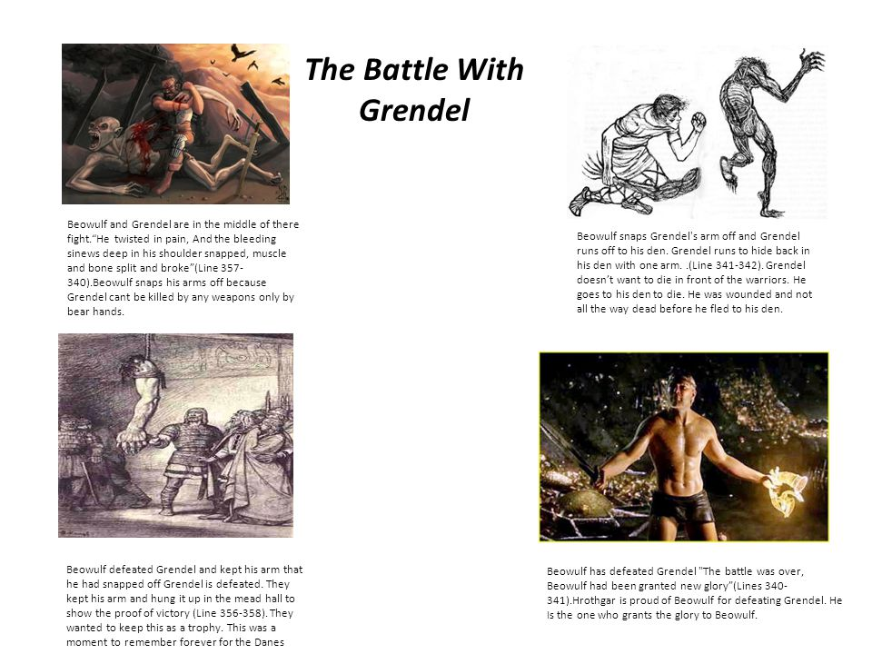 The Battle With Grendel